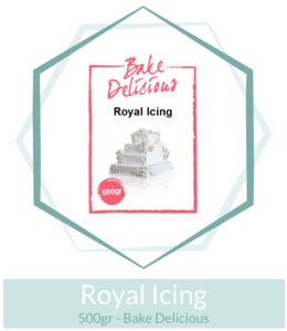 Royal Icing 500gr - Bake Delicious