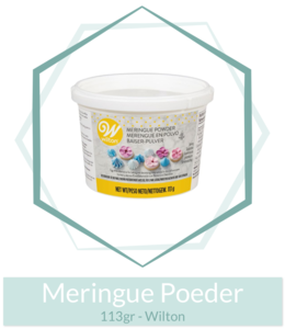 Meringue Poeder 113gr - Wilton