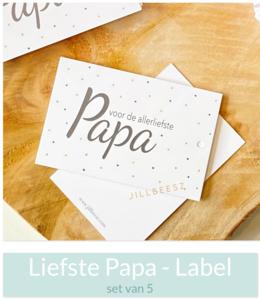 Voor de allerliefste PAPA - (Label)