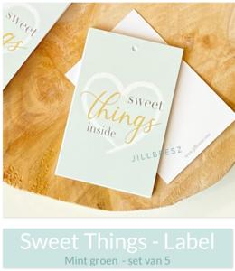 Sweet Things Inside -  (Label I Mint)