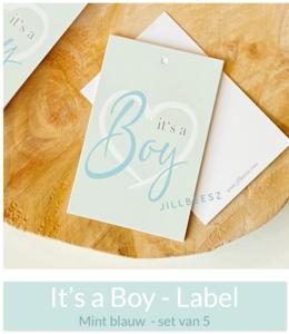 It's a Boy - (Label)